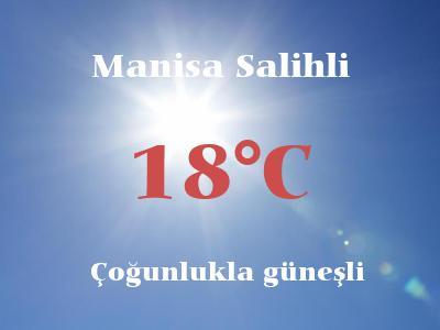 Hava Durumu Manisa Salihli