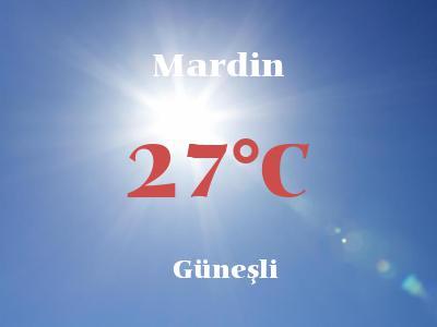 Hava Durumu Mardin