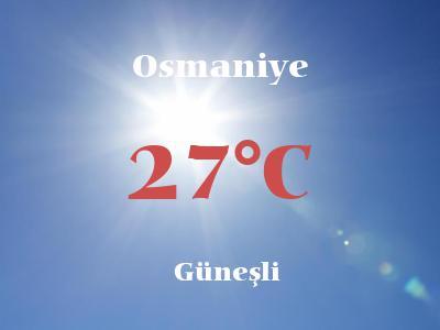 Hava Durumu Osmaniye